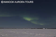 northernlights on north sky